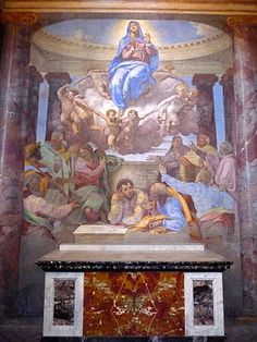 Rome's Church of Trinita dei Monti is at the Top of the Spanish Steps