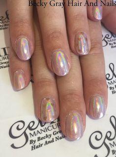 #gelii #manicure shiny lavender #magpieglitter aurora #moyoulondon #nailart #showscratch #nails #tcbg