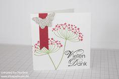 Dankeskarte Thank You Card  Grusskarte Stampin Up 006
