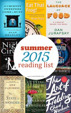 8 books I can't wait to read this summer! #overstuffedlife