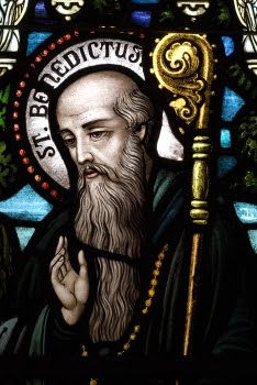 Saint Benedict Of Nursia painting