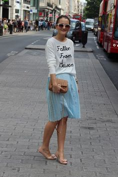 Primark can look high end! We love this Olivia Palermo inspired feminine chic.