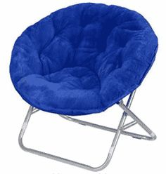 Comfy Chairs Urban Shop Faux Fur Saucer Chair with Metal Frame, One Size, Black Dorm Chairs, Living Room Chairs, Bag Chairs, Chairs For Bedrooms, Dining Chairs, Chiavari Chairs, Lounge Chairs, Papasan Chair, Chair Cushions