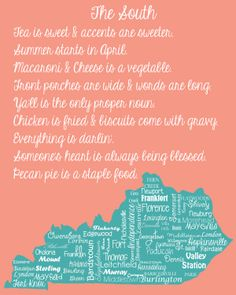 Proud to be from Kentucky!..i love that my lil home town of Flatwoods actually made it on this!!!