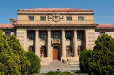 Photos and pictures of: The Appeal court building, Bloemfontein, South Africa - The Africa Image Library Famous Buildings, Free State, Africa Travel, Beautiful Buildings, Countries Of The World, Live, Building Design, South Africa, The Good Place