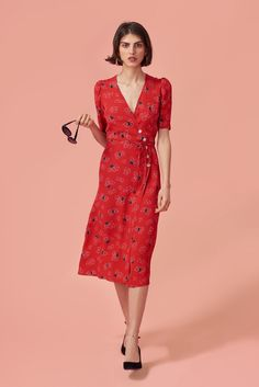 The Best Under-the-Radar French Fashion Brands Casual Dresses, Fashion Dresses, Summer Dresses, The Dress, Dress Skirt, Vintage Outfits, Vintage Inspired Dresses, Style Parisienne, Look Street Style