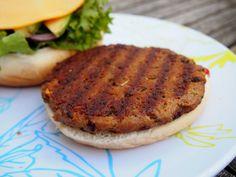 Seitan burger main pic