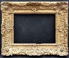 French Carved Distressed Frame, circa 1760