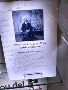 """Correspondència"" Paul Cezanne i Emile Zola. L'art de la memòria."