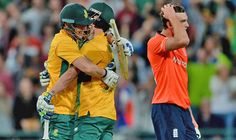 England pipped by South Africa to a thrilling final-ball victory as Chris Morris shines