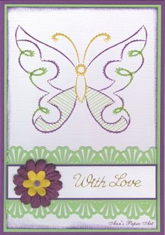a725 Free pattern : Anns Paper Art!, The Art of Stitching