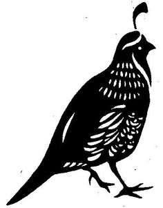Bird #4 Silhouette