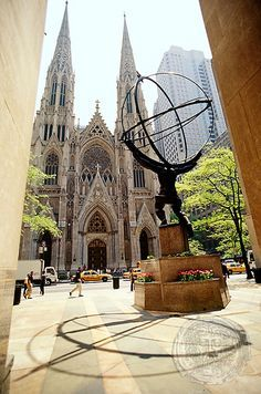 St Patrick's Cathedral, Manhattan, New York, USA