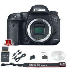 $1152 Canon-EOS-7D-Mark-II-MK2-Camera-Body-Only-20-2MP-DSLR-Black-BRAND-NEW