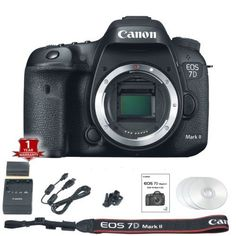 $1152 Canon-EOS-7D-Mark-II-MK2-Camera-Body-Only-20-2MP-DSLR-Black-BRAND-NEW