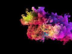Colorful Smoke - YouTube Iphone Wallpaper Smoke, Free Green Screen, Colored Smoke, Chroma Key, The Creator, Karaoke, Colorful, Youtube, Wallpapers
