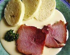 NAŠE KUCHYNĚ: Uzené maso s křenovou omáčkou