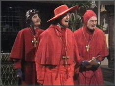 Nobody expects the spanish inquisition! Our chief weapon is surprise, surprise and fear, fear and surprise.