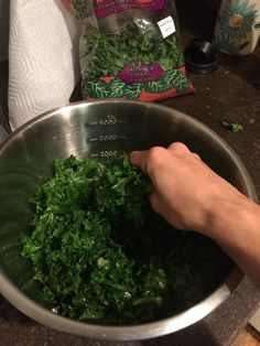 This salad is a powerful tool in your efforts to eat healthy at work.  Why?  Because you can make it on Sunday and it can be DELISH to eat on Friday.I  love kale salads for this reason - the longer they sit, the better they  taste.