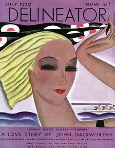 Cover by Helen Dryden, 1 9 2 9, Delineator magazine.