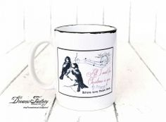 Hometalk :: Faux Enamel Postcard Mugs,