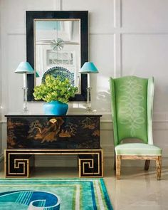 Icon Trend loves green shades