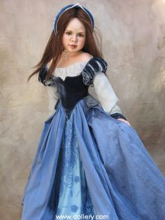 Susan Krey Collectible Dolls...Ann Bolyn