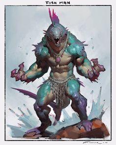 Твиты с медиафайлами от Taran Fiddler (@TFiddlerArt) / Твиттер Monster Concept Art, Fantasy Monster, Monster Art, Fantasy Character Design, Character Design Inspiration, Character Art, Creature Concept Art, Creature Design, Mythical Creatures Art