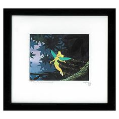 Tinker Bell Cel - ''Pixie Perfect'' | More Art | Disney Store | $495.00