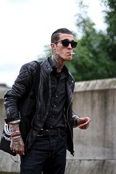 Smoking is gross. I'm a fan of a few tattoos however.