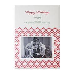 Custom DIY Letterpress Christmas Cards