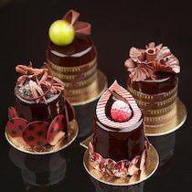Artisan Desserts - Norman Love Confections #plating #presentation & #chocolate
