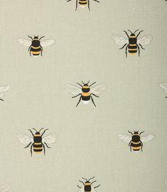 Save on our Pale Green Bees Contemporary Fabric from Sophie Allport; perfect for creating Curtains & Blinds. Green Curtains, Curtains With Blinds, Bee Fabric, Woven Fabric, Door Entryway, Contemporary Fabric, Georgian Homes, Orange Fabric, Roman Blinds