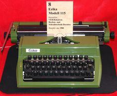 Erika 115 typewriter, DDR Museum Prora, July 2009 | by stilo95hp