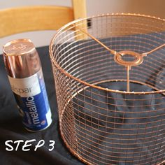 How to make a birdcage lampshade: Step by step guide Copper Spray Paint, Ideal Home Show, Sticky Back Plastic, Diy Light Fixtures, Craft Sites, String Lights Outdoor, Furniture Restoration, Bird Cage, Lampshades