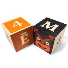 A block set of marauding gods, numbers, math symbols & the Maori alphabet. http://www.theplayingmantis.co.nz/shop/SHOP+BRAND/Uncle+Goose/Maori+ABC+Block+Set+-+Pre+Order+Today%21.html