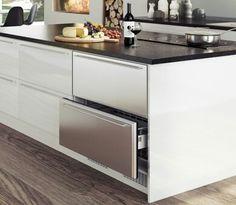 Integrated drawer fridge