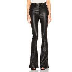 Unravel FWRD Exclusive High Waisted Flare Pants ($1,975) ❤ liked on Polyvore featuring pants, high rise pants, high-waisted pants, highwaist pants, high waisted pants and flared trousers