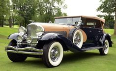 1929 Duesenberg Model J and SJ