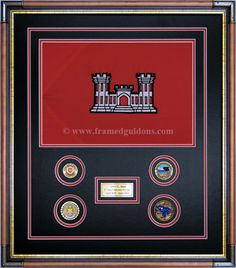 personalized flag display case