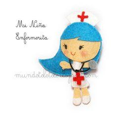 Mi Niña vestida de Enfermerita by Tolé Tolé, via Flickr