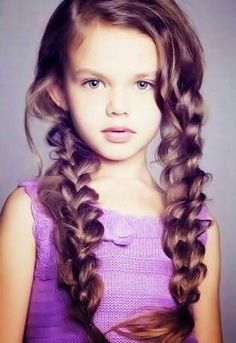 braids for kids with long hair