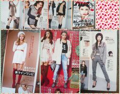 Happie Nuts 2014 January issue pics #japan #mag #fashion #gyaru #scan