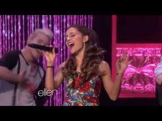 Ariana Grande - The Way ft. Mac Miller (Live on The Ellen Show)