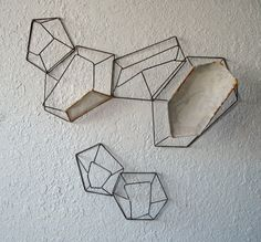 Mapping the Dispersal Wall Installation by sarahwest on Etsy, $120.00