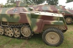 A restored SdKfz 251/1 halftrack