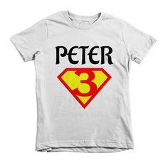 Birthday TEE – TEEmize birthday superhero birthday party tshirt custom name date