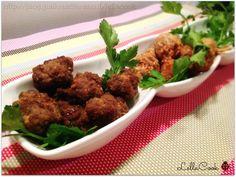 Polpette di carne fingerfood - http://blog.giallozafferano.it/lellacook/polpette-di-carne-fingerfood/