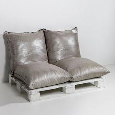 Sofa de sol lin métallisé 4/4 Am.Pm   La Redoute