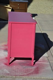 Spray painting furniture -- tips and tricks